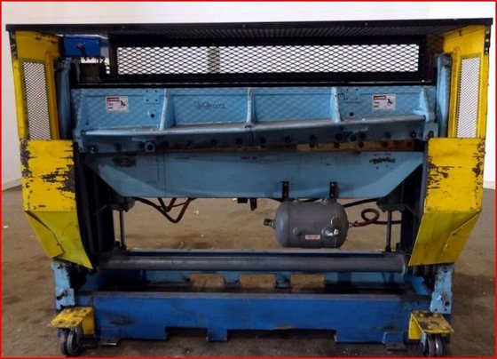 72″ WIDE WYSONG IN-LINE SHEAR.