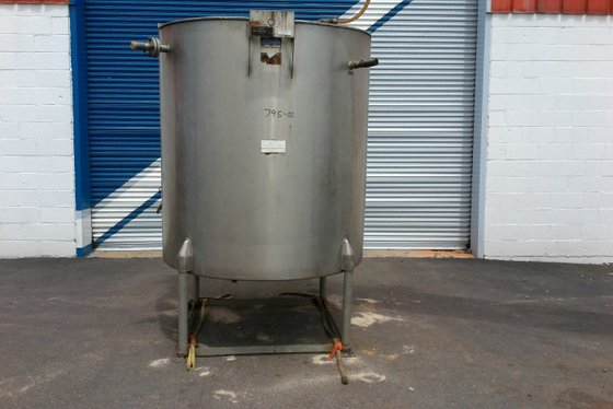 APPROXIMATELY 500 GALLON TANK. WITH