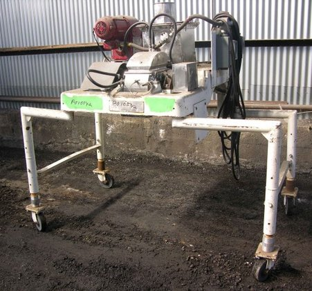 FITZMILL SCREW FEED DAO-6, STAINLESS