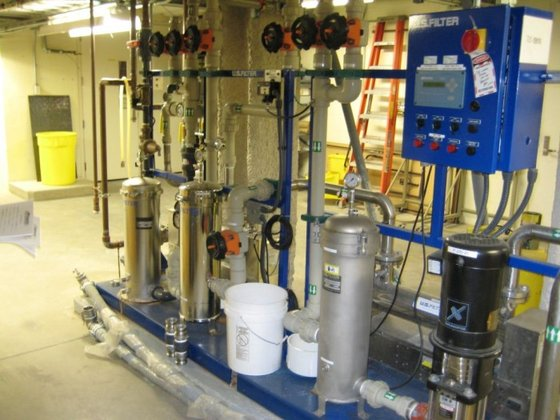 U.S. Filter Reverse Osmosis Unit