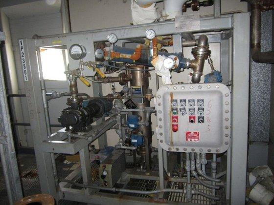 WINTEK CORP K08-VCA60-C15/R20 VACUUM SKID.