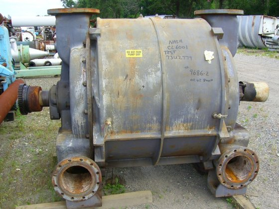NASH CL-6001 VACUUM PUMP. 6000