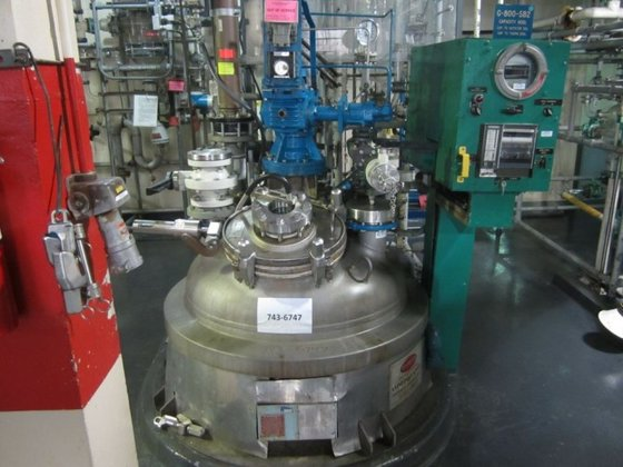 PFAUDLER Glass Lined Reactor APPROXIMATELY