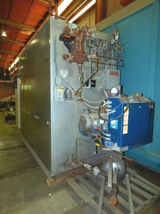 BRYAN RV-0S-125-S-150-FDG FLEXIBLE TUBE BOILER.