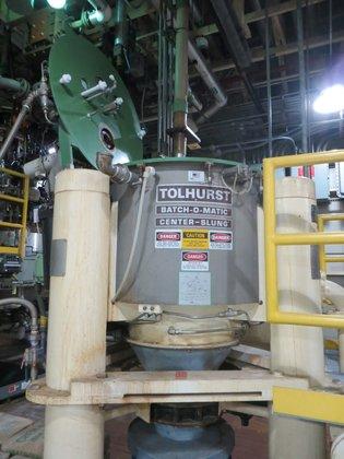 HASTELLOY Basket Centrifuge TOLHURST (KETEMA)