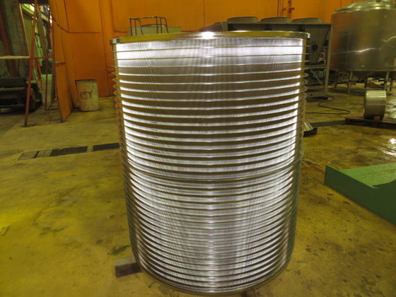 VOITH PS35 BASKET .25 SLOTTED