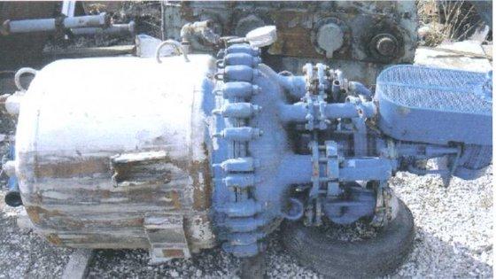 1994 PFAUDLER Reactor 100 GALLON