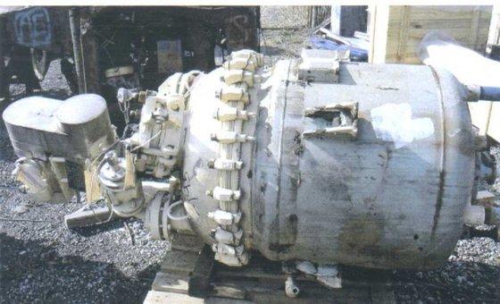 1993 PFAUDLER Reactor 100 GALLON