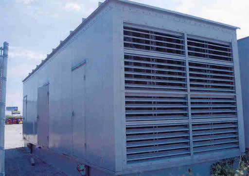 2000 KW STAND-BY, ENCLOSED DIESEL