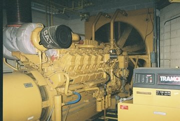 1997 CATERPILLAR 2000 KW STANDBY
