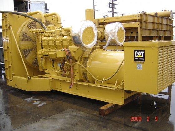CATERPILLAR 900 KW STANDBY /