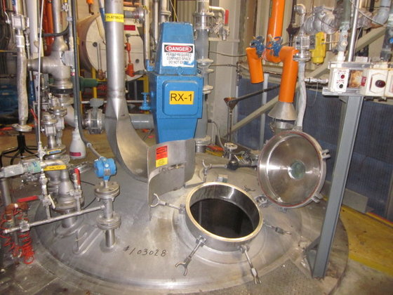 APPROXIMATELY 2,000 GALLON REACTOR. MANUFACTURED