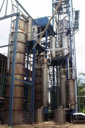 SUGAR DISTILLERY FOR MANUFACTURE OF