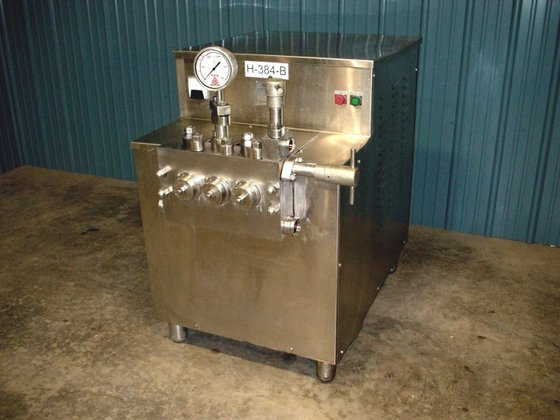 CHERRY BURRELL SS2100VBR HOMOGENIZER. TWO-STAGE