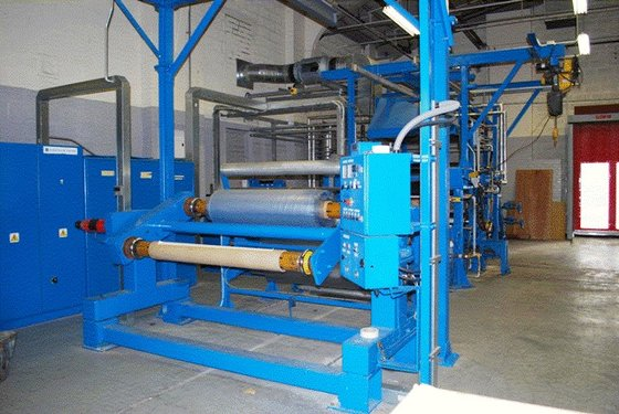 60″ WIDE HOT EMBOSSING LINE