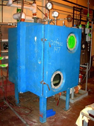 STOKES 338-3 VACUUM SHELF DRYER.