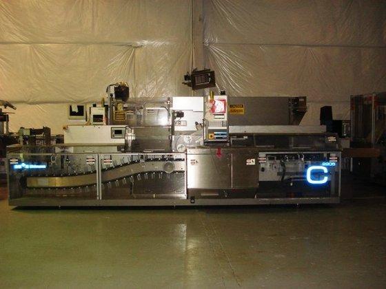 UHLMANN UPS4 THERMOFORMING BLISTER MACHINE