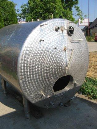 stainless steel horizontal storage tank