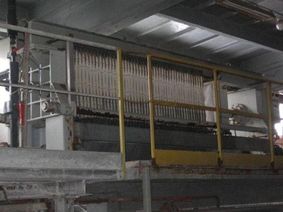1995 chamber filter press made