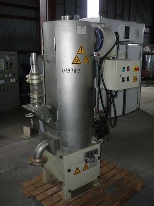 2005 centrifugal pellet dryer, by