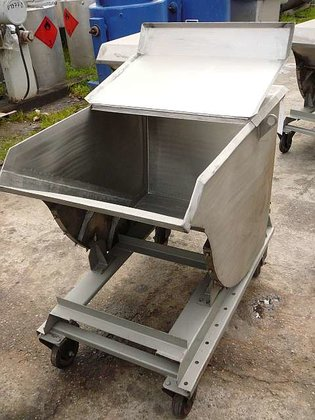mobile bin for powders. Contact