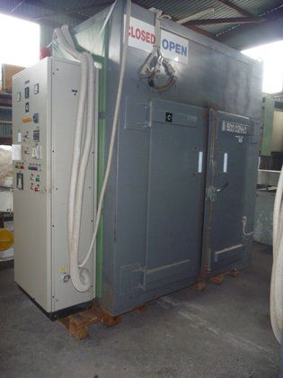atmospheric chamber tray dryer with