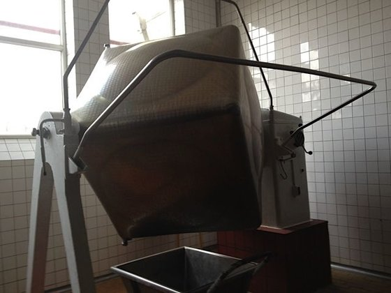 stainless steel double cone mixer,