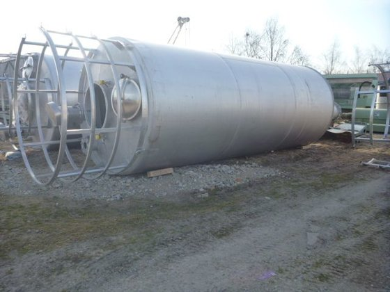vertical stainless steel silos by