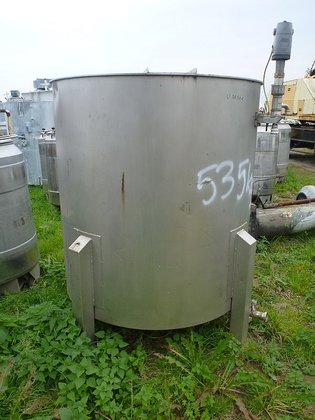 stainless steel storage tank with