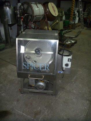 barrel tumbling mixer designed in
