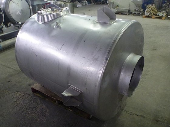 vertical stainless steel storage silo