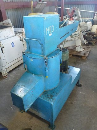 vertical pre-crusher for plastics. Polish