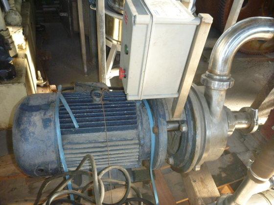 centrifugal pump. Contact parts designed