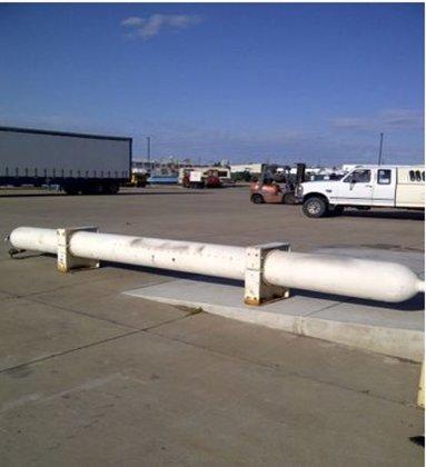 Tank, 200 Gallon, C/st, Horizontal,