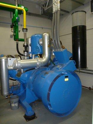 Compair Compressor, Air, 600 HP,