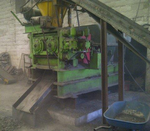 Komarek Greaves DH400 Press, Briquetting,