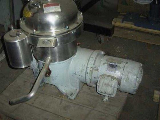 Westfalia SA7-06-076 Centrifuge, Disc, Auto,