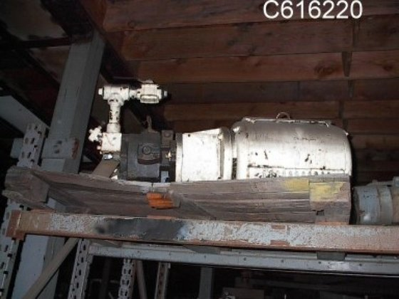 (4) Pump, Hydraulic, 50 HP,