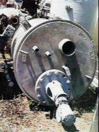 "Tank, 650 Gallon, S/st, 4'6"""