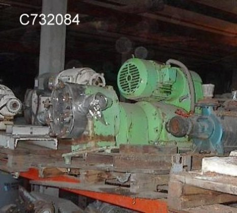 prred 125-2 Pump, Positive, Displacement,