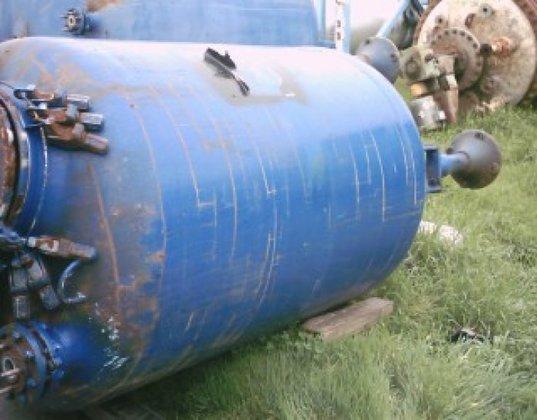 Pfaudler Tank, 500 Gallon, G/L,