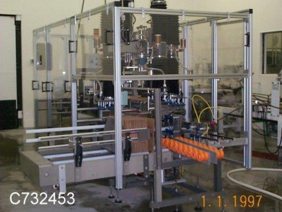 Robopack-2000 Caser, Erector, Packer, Automation