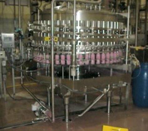 Krones 111-600 Filler, Rotary, Bottle,