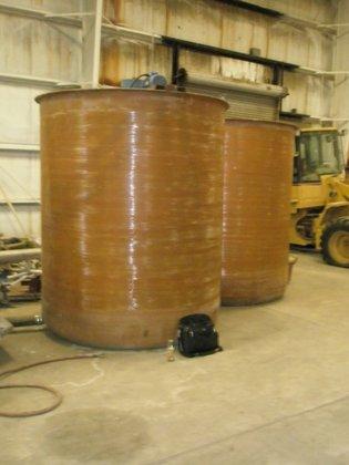 Tank, 1, 500 Gallon, FRP,