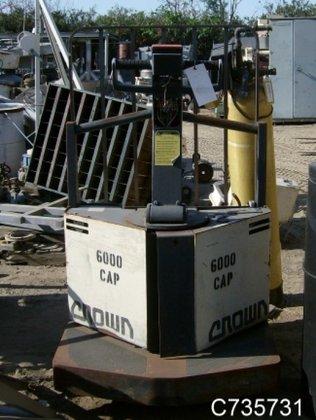 60PE-27-3 Forklift, Pallet Jack, Elec,