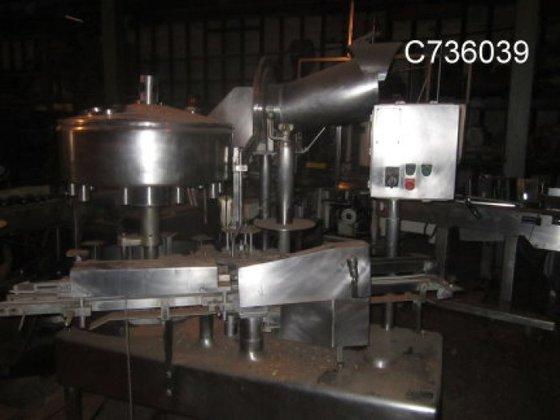 DLH Filler, Bottle, 12-valve, Rotary,