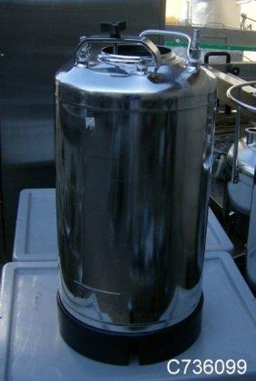 Tank, 8 Gallon, 316L S/st,