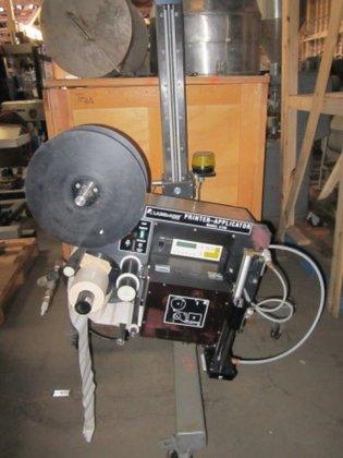 2138V Labeler, Label-Aire, Mdl, Printer/Applicator