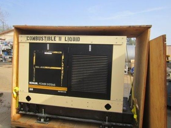 20R0ZJB Generator, Diesel, 26 kW,