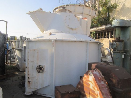 """Separator, Air Classifier, 5'4"""", Hosokawa,"""